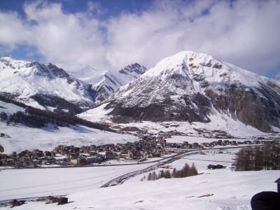Livigno lyžovačka