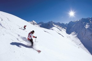 Solden lyžovačka
